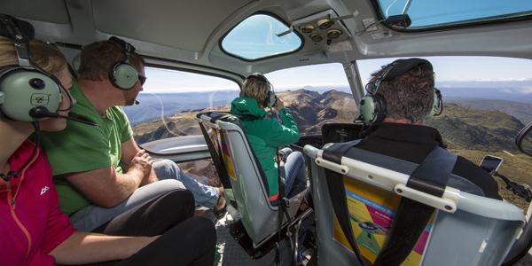 Helicopter Mount Tarawera