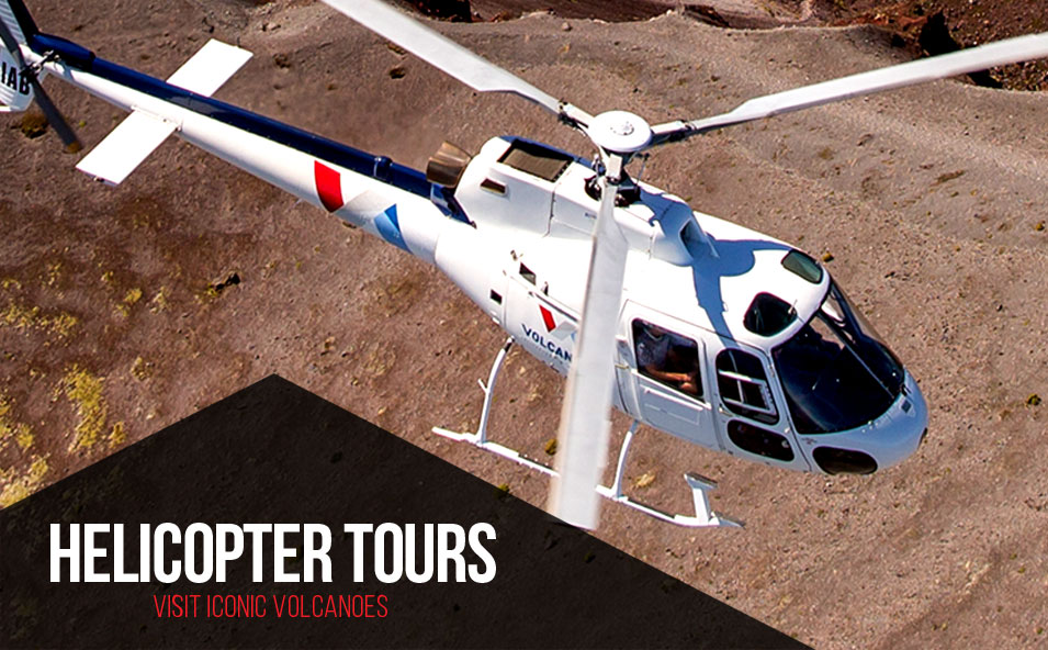 Helicopter Tours - Volcanic Air