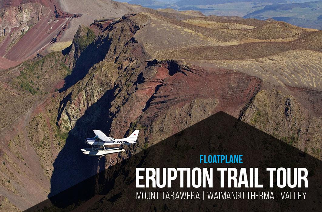 Mount Tarawera Floatplane - Volcanic Air