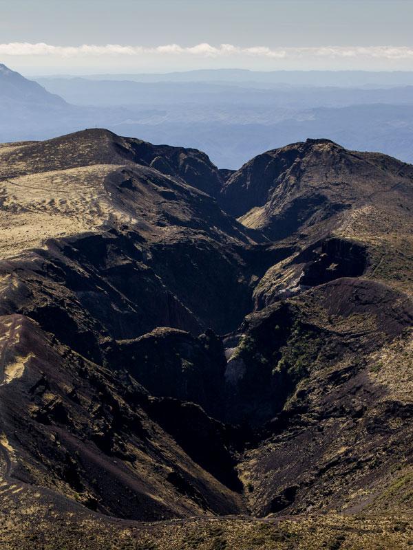 Mount Tarawera Tours - Volcanic Air